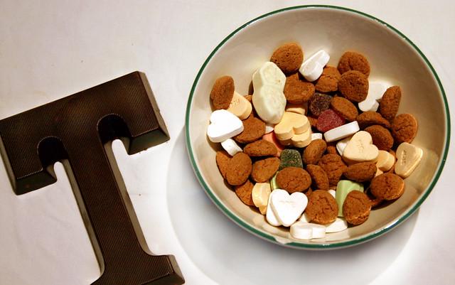 Typical St Nicholas celebration sweets