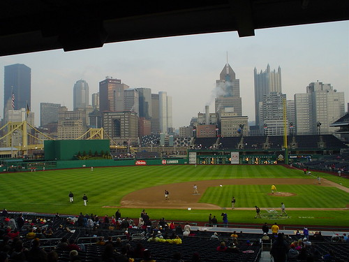 PNC Park - Pittsburgh Skyline