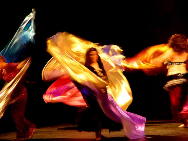 dancing veils
