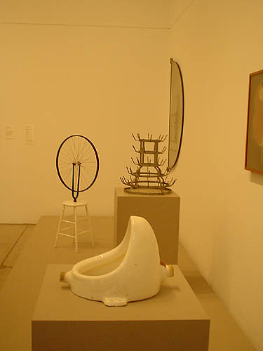 "marcel duchamp readymades essay None of the ""readymades"" were art before duchamp, which was why the."