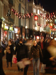 Christmas Rush in Dublin