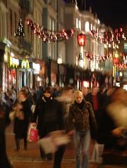 Christmas Rush in Dublin