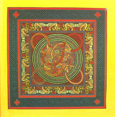 picture frame(0.0), prayer rug(0.0), flooring(0.0), tapestry(1.0), art(1.0), pattern(1.0), textile(1.0),