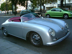 volkswagen(0.0), sports car(0.0), automobile(1.0), automotive exterior(1.0), porsche 356/1(1.0), wheel(1.0), vehicle(1.0), automotive design(1.0), porsche 356(1.0), porsche(1.0), subcompact car(1.0), city car(1.0), compact car(1.0), antique car(1.0), classic car(1.0), land vehicle(1.0),