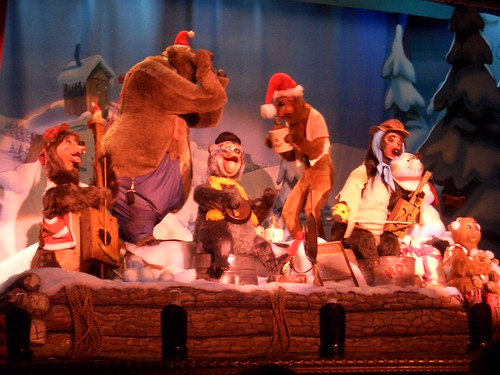 Country Bear Xmas, Walt Disney World, Orlando, Florida