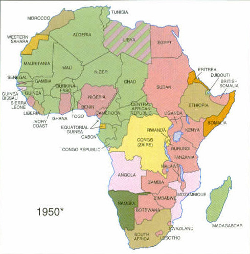 1960 Map Of Africa.Map Of Africa 1960 Pictures To Pin On Pinterest Pinsdaddy