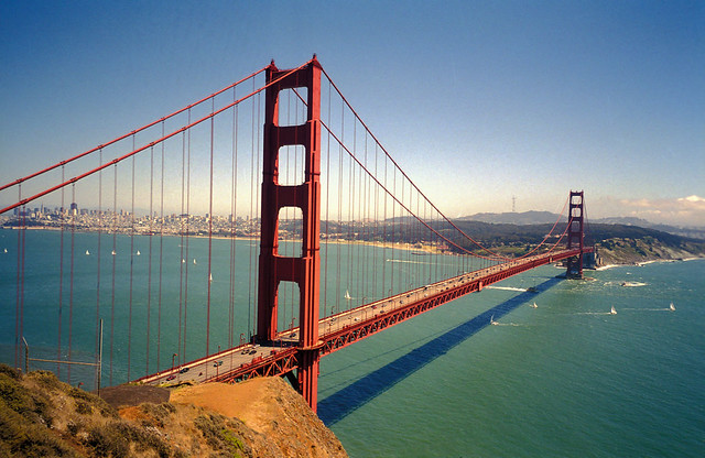 Golden Gate BridgeFamous Bridges Of The World