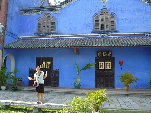 Cheong Fatt Tze's mansion - Amy giggles