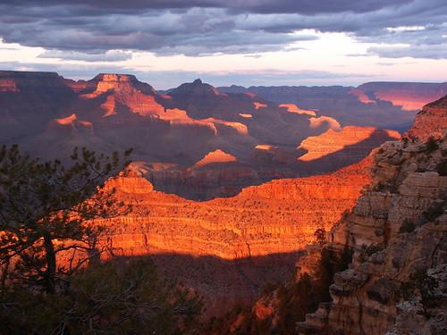 Grand Canyon Sunset 1