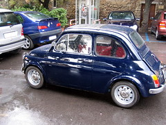 automobile(1.0), fiat(1.0), fiat 500(1.0), wheel(1.0), vehicle(1.0), city car(1.0), fiat 500(1.0), land vehicle(1.0),