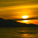 Orange Skeena Sunset