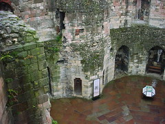 Inside Clifford's Tower