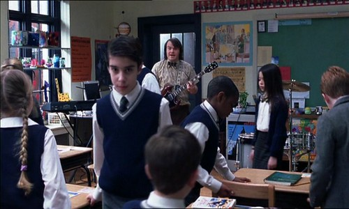 Breaking the fourth wall: School of Rock