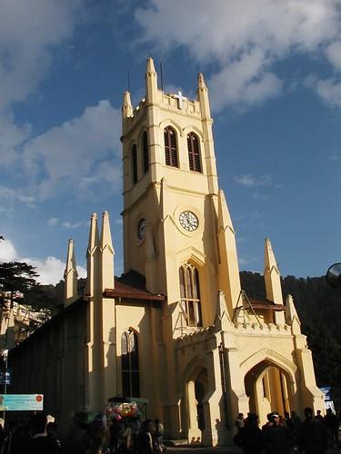 The church in Shimla