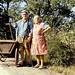 Czech couple with cart by doc(q)man