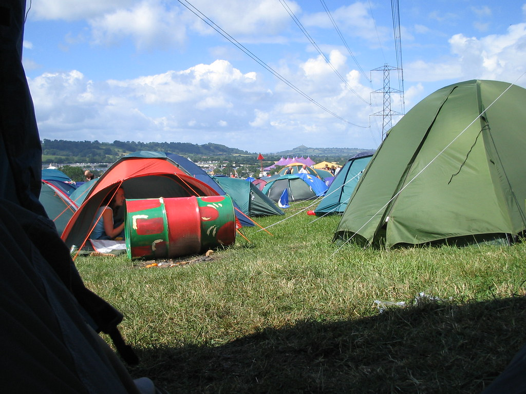 ... View from the 9 man tent | by russelljsmith & View from the 9 man tent | This is a view from the nine-man u2026 | Flickr