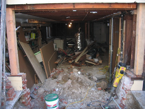 Hopefully you can keep your garage in better shape than this one!