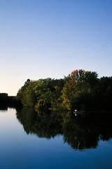 huron river at gallop park