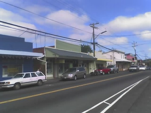 Downtown Pahoa Hawaii