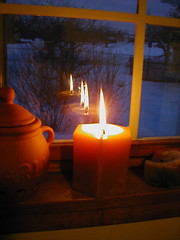 Candle in the Window | by Chris Campbell