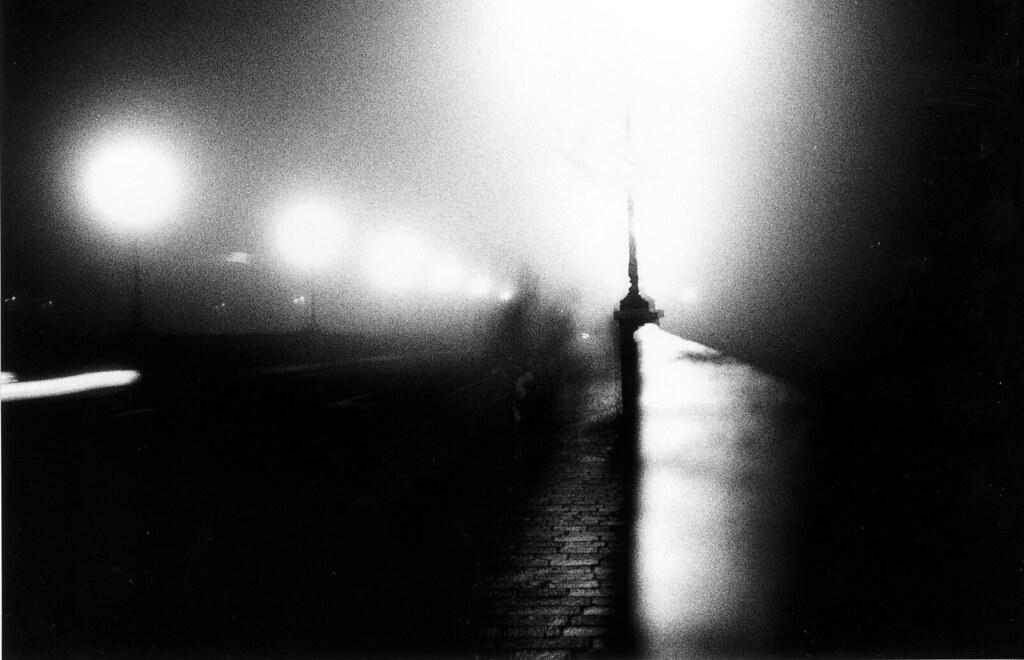 Fog in the night
