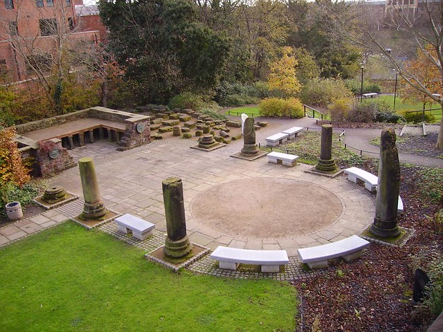 Roman Garden Chester Flickr Photo Sharing