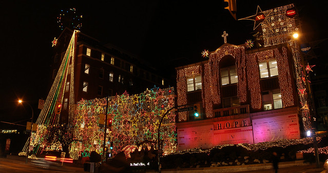 St. Paul's Hospital Christmas Lights