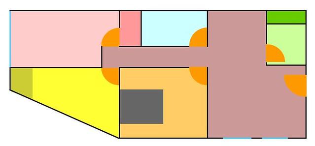 2005/01租處平面圖