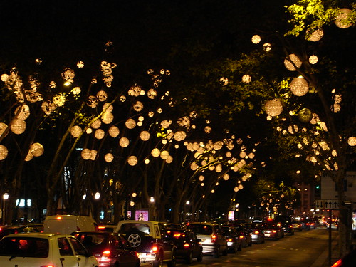 Lisbon - Xmas Lights & Decorations by Joana S.