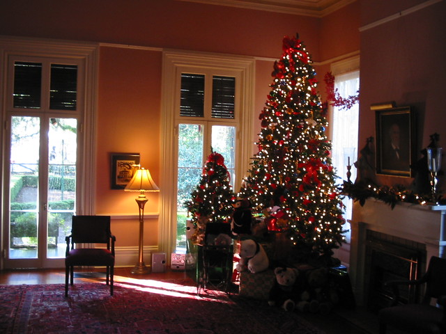 Xmas in the plantation house