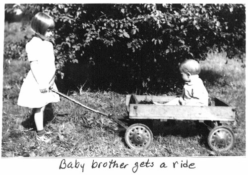 Baby Brother Gets a Ride