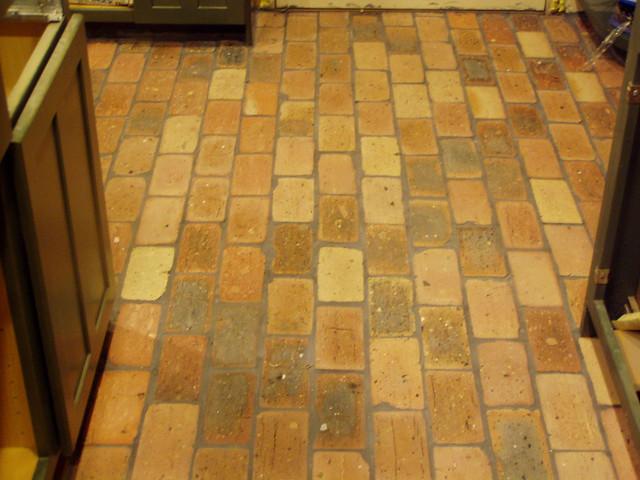 Old Chicago Brick Flooring : Brick floor flickr photo sharing