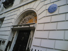 Photo of John Scott blue plaque