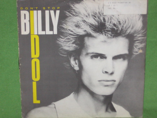 Billy Idol, Don't Stop