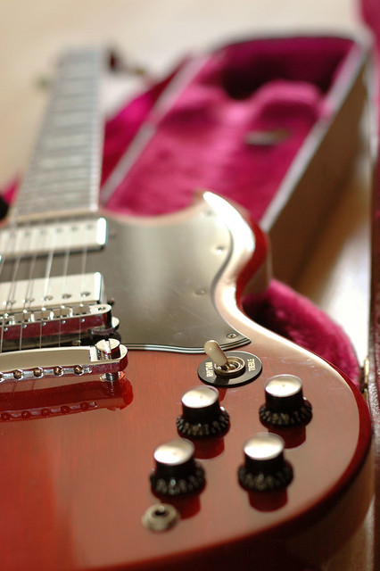 Photo:Gibson SG close-up By Jackie L Chan