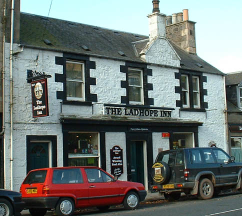 Ladhope Inn local pub since 1792