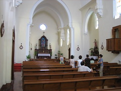 altar, building, place of worship, church, chapel,