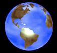 Rotating globe, used on the website