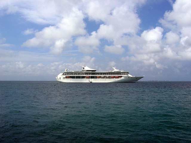 A Royal Caribbean Cruise Ship In Belize  Flickr  Photo