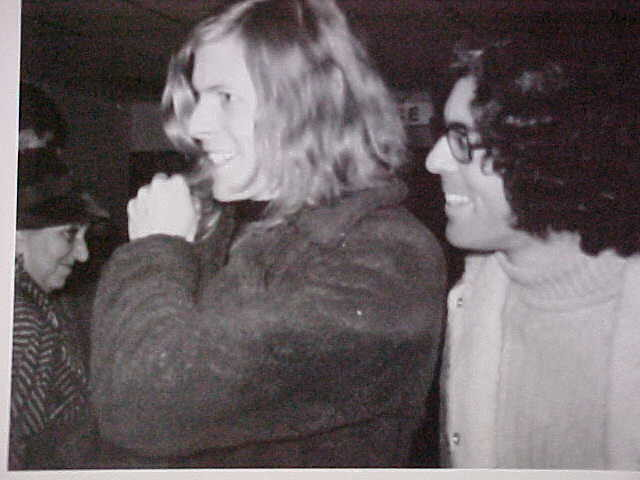 My Brother Ron and David Bowie, 1971