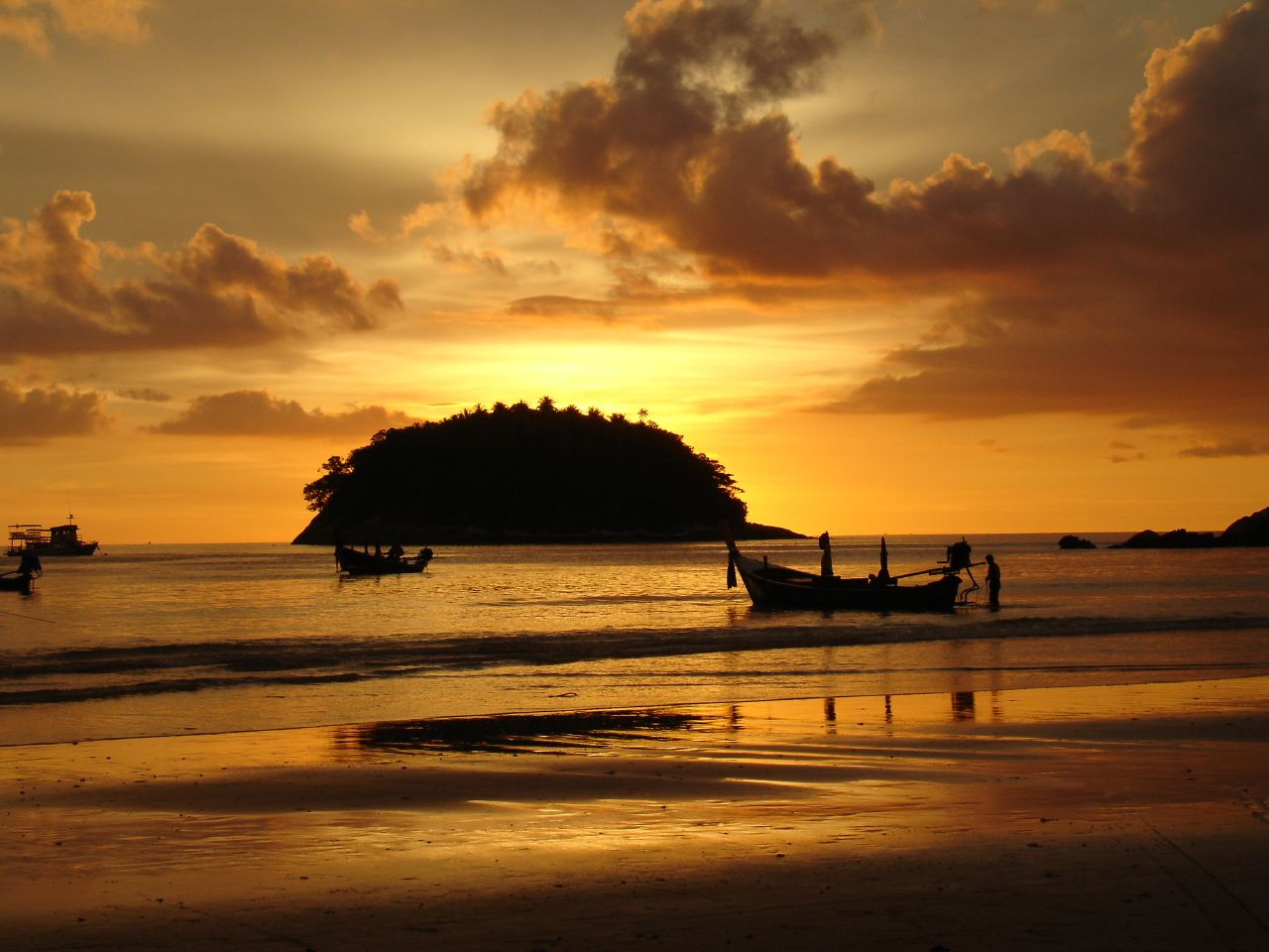 Kata, Phuket sunset