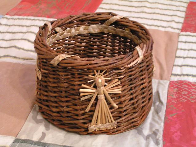 Christmas Wicker Basket Flickr Photo Sharing
