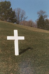 symbol, memorial, cross, grave,