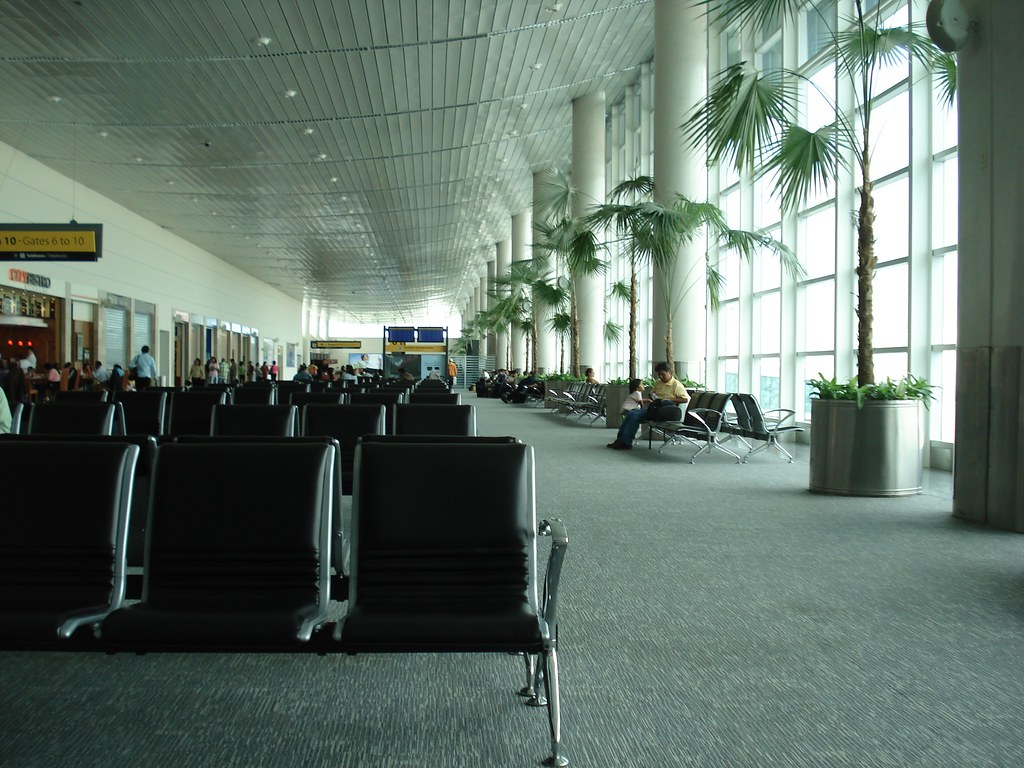 Guayaquil airport in Ecuador