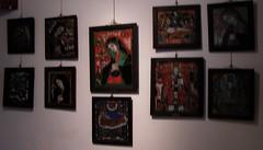 Museo de iconos  en cristal en Sibiel Rumania 005