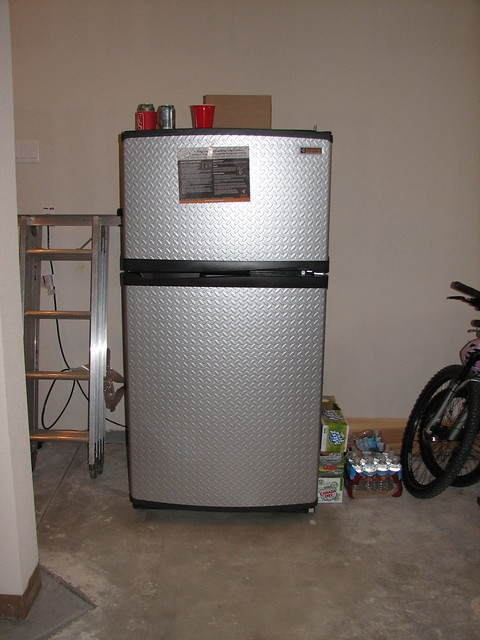 Garage Fridge: Freezers: Freezer In Garage