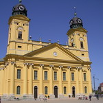 Front of the Great Church, Debrecen