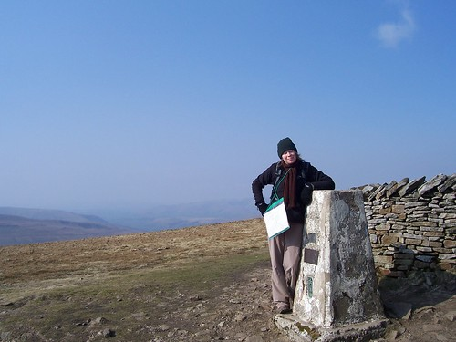 At the sumit of Whernside