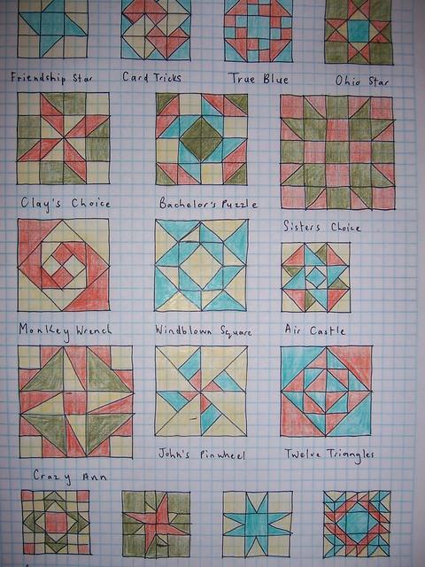 Quilt block designs Flickr - Photo Sharing!