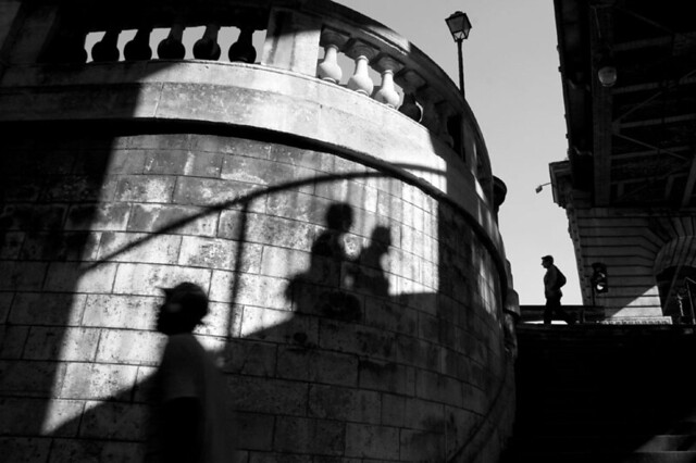 Paris Street Photography - Great Examples of Shadows in Street Photography